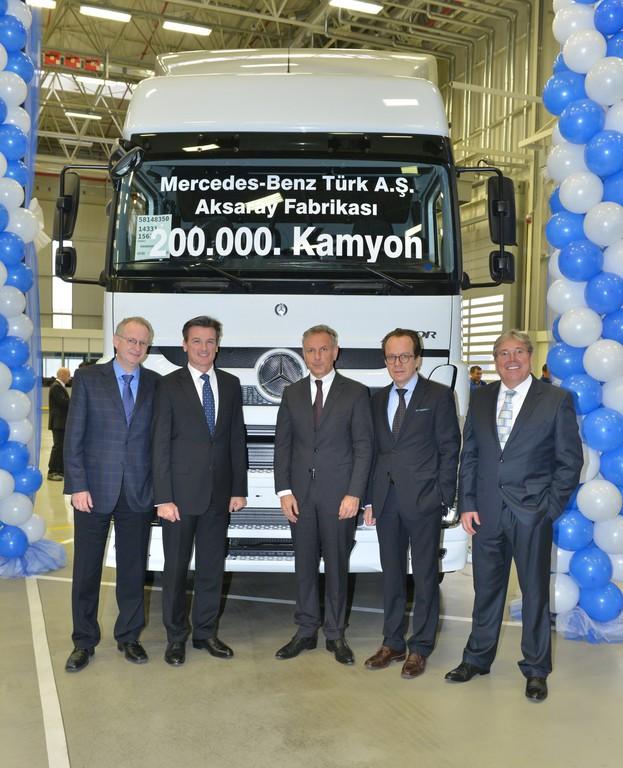 200 000ster Daimler-Lkw im Werk Aksaray gefertigt