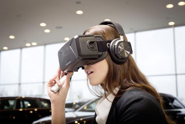 Audi geht neue Wege: Brille auf im Autohaus