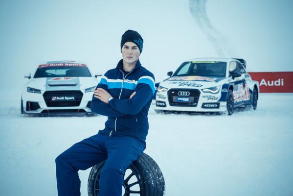 Marklund fährt Rallyecross im Audi