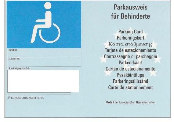 Parkplatz für Behinderte – wer darf, wer darf nicht?