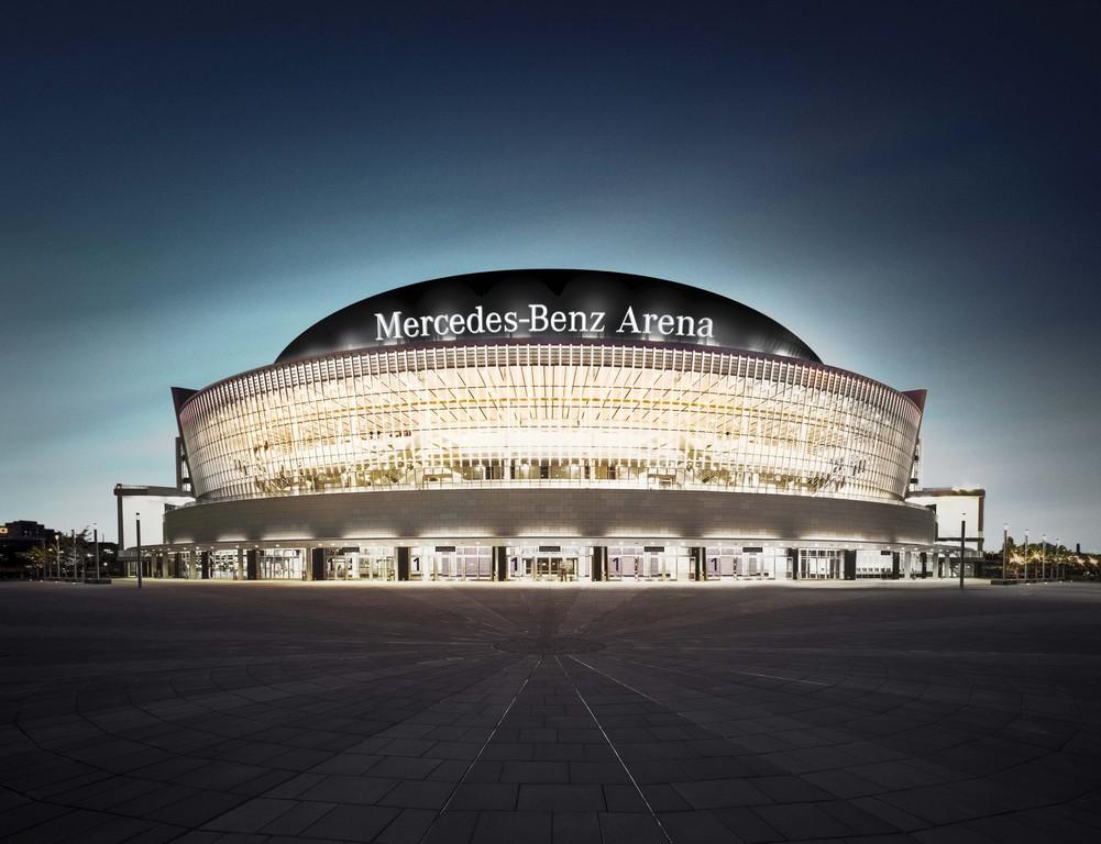 """Aus """"O2 World"""" wird Mercedes-Benz-Arena"""