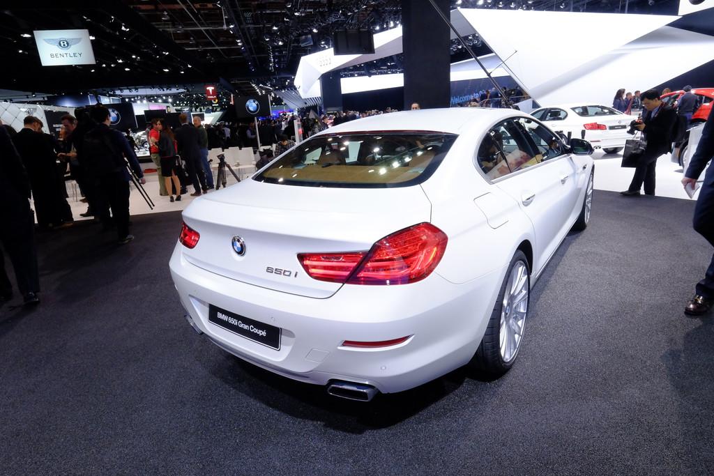 Detroit 2015: BMW 6er wird aufgefrischt