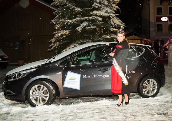 Kia Cee'd für Miss Chiemgau
