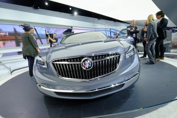 Detroit 2015: Buick blickt in seine Zukunft