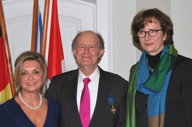 Peter Rieth erhält hessischen Verdienstorden
