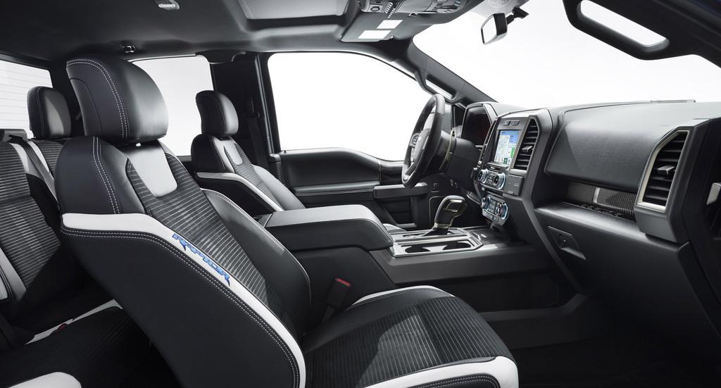 Detroit 2015: Ford F-150 Raptor speckt ab