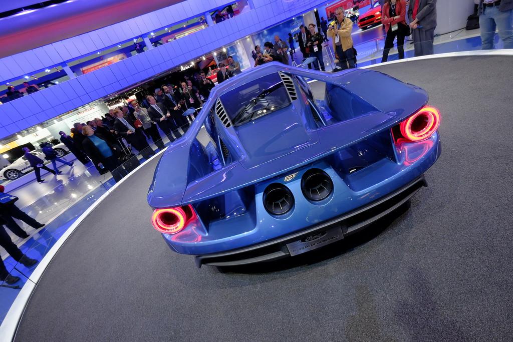Detroit 2015 - Über 600 PS starker Paukenschlag von Ford