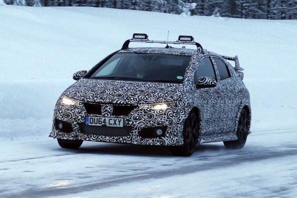 Erwischt: Erlkönig Honda Civic Type R - Neue Bilder!