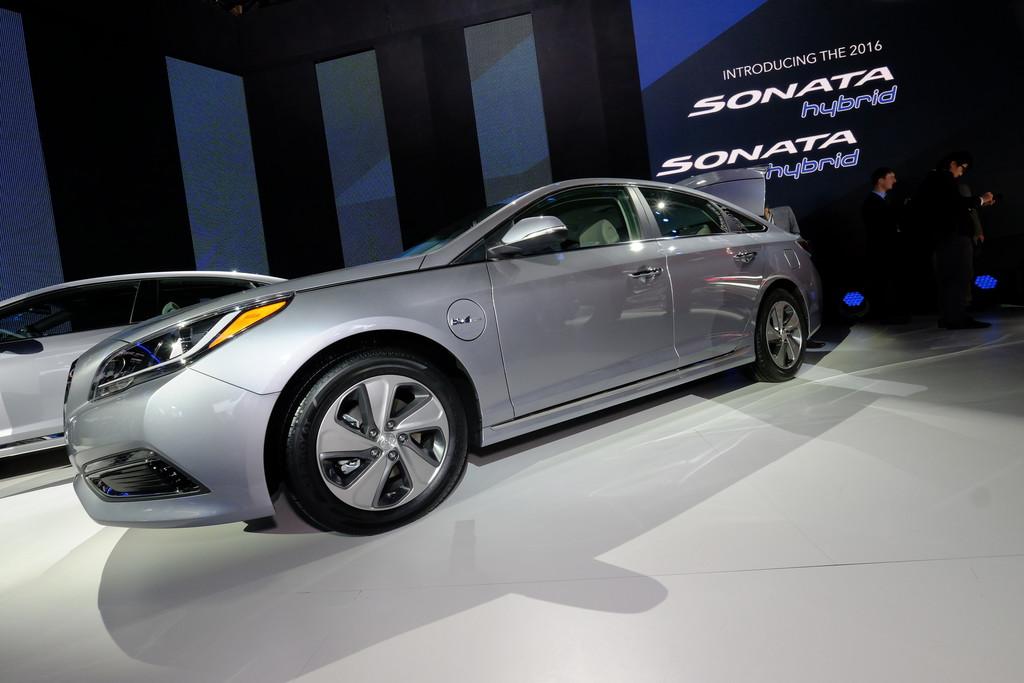 Detroit 2015: Hyundais erster Plug-in-Hybrid