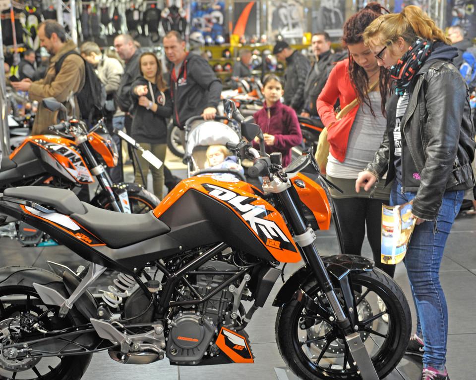 Mehr als 42 000 Besucher bei Motorradmesse