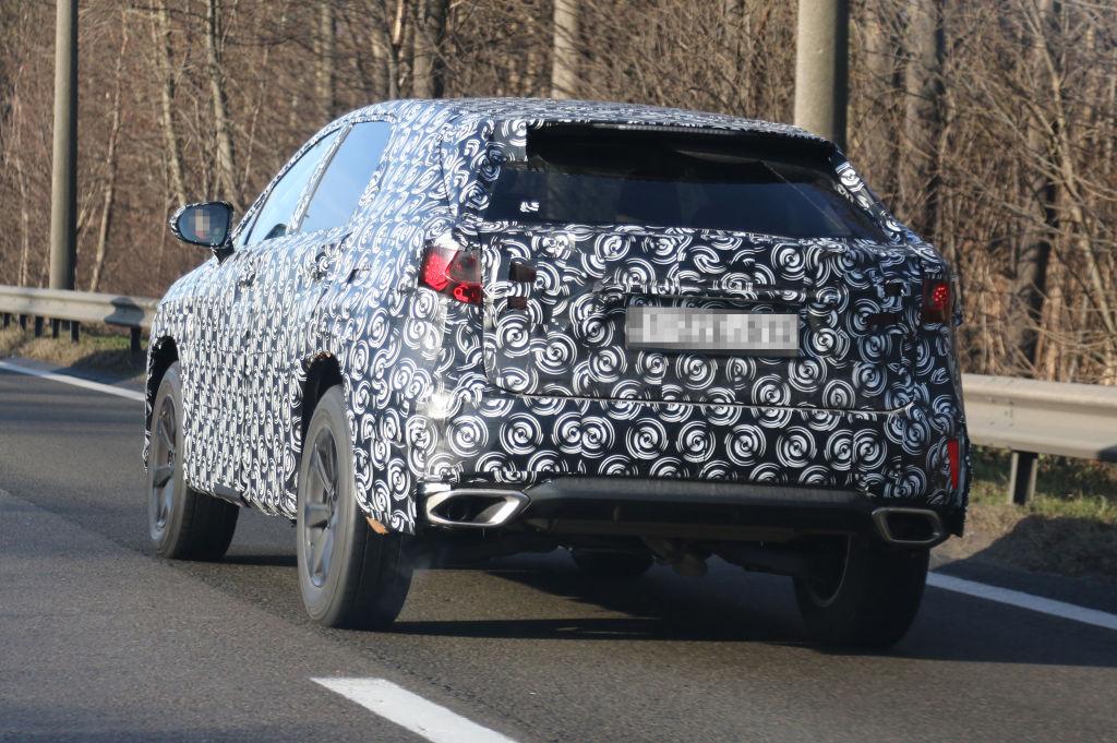 Erwischt: Erlkönig Lexus RX