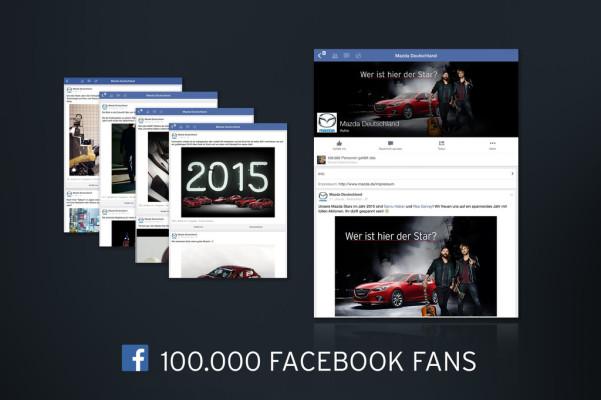 100 000-Facebook-Fans für Mazda