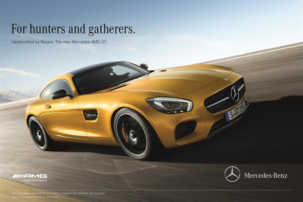 Breitangelegte Markteinführung des Mercedes-AMG GT