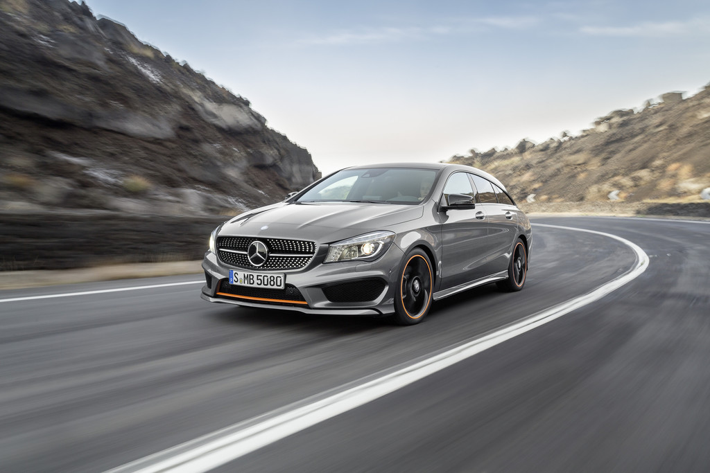 Mercedes-Benz CLA Shooting Brake ab sofort bestellbar