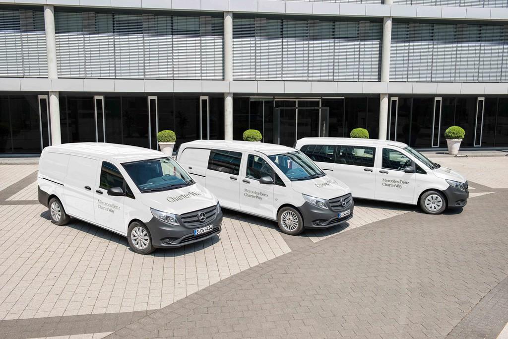 Mercedes-Benz Vito verstärkt Charterway-Flotte