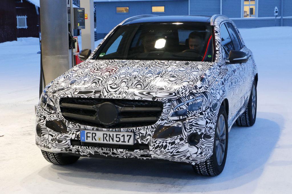 Erwischt: Erlkönig Mercedes-Benz GLC