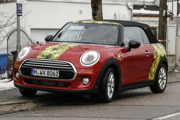Erwischt: Erlkönig Mini Cabrio / Clubman