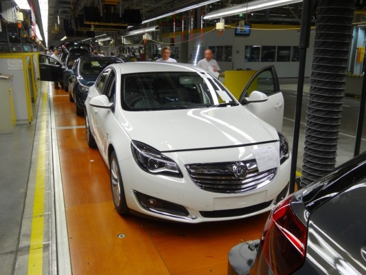 Opel-Produktion in Rüsselsheim.