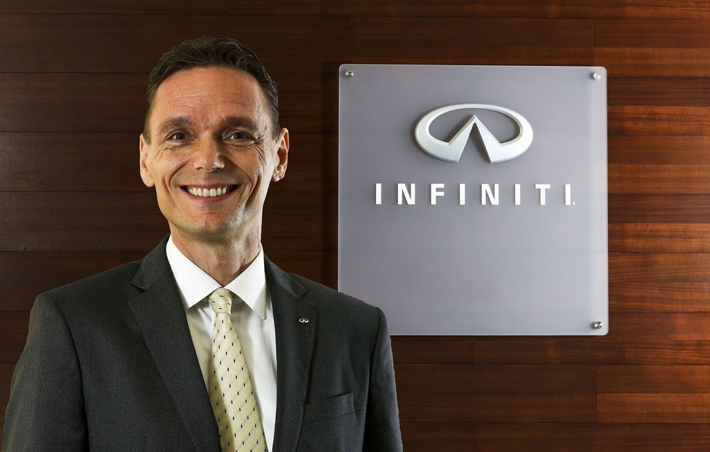 Roland Krüger führt Infiniti