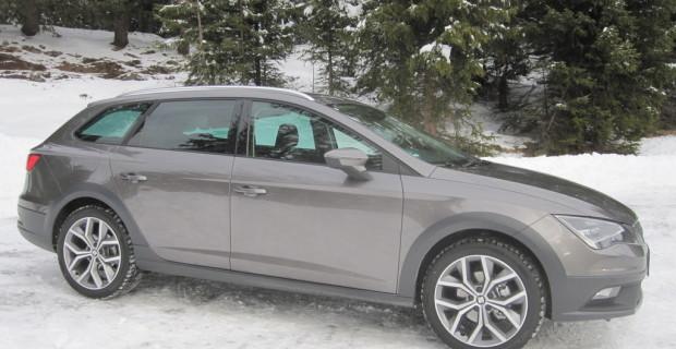 Erste Fahrt im Seat Leon X-Perience: Winterfest