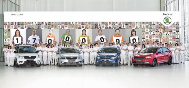 Skoda baut 17-millionstes Fahrzeug