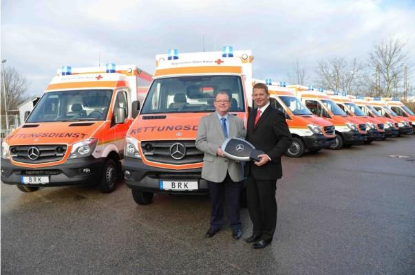 Sprinter Rettungswagen für das Bayerische Rote Kreuz