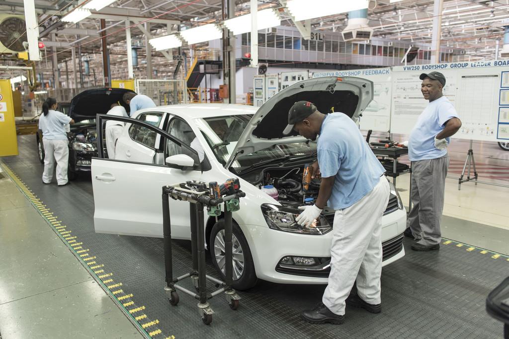 Volkswagen kommt in Südafrika voran