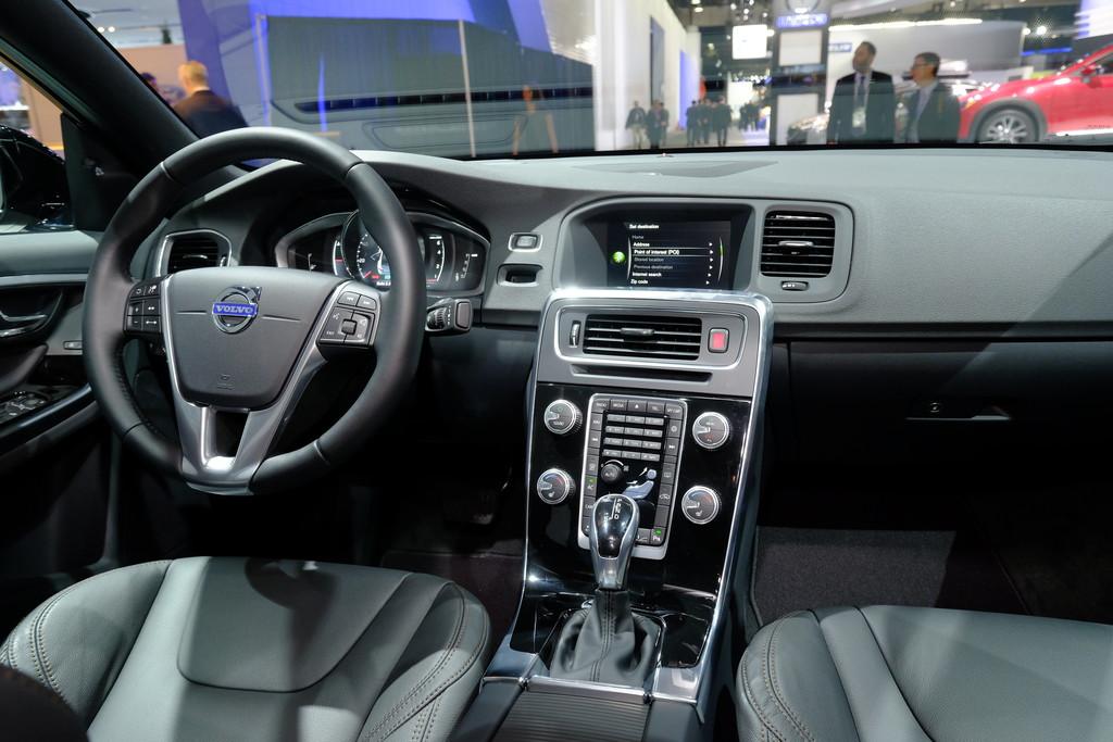 Detroit 2015: Dieser Volvo S60 braucht keinen Asphalt