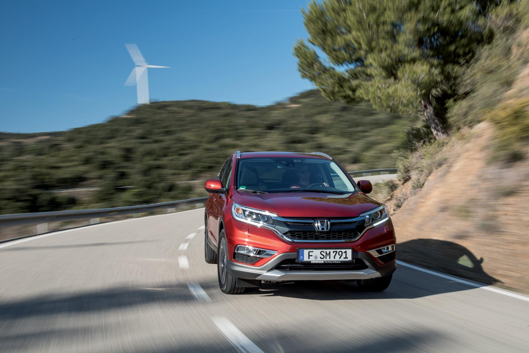Honda CR-V: Die Generation viereinhalb
