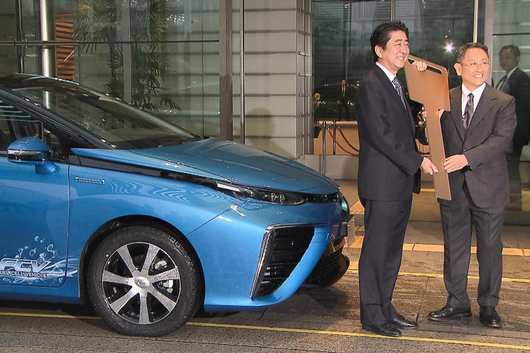 Toyota: Beginn des Wasserstoff-Zeitalters