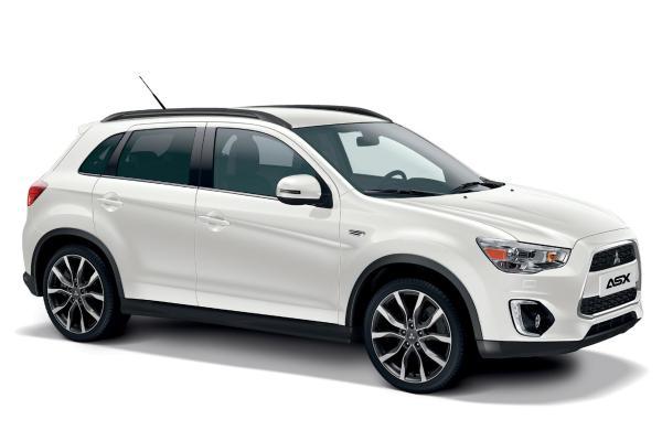 Mitsubishi mit zwei neuen Sondermodellen des ASX