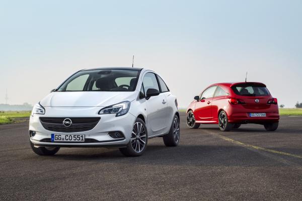 Grillparty bei Opel mit Corsa und Adam