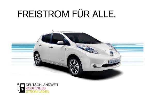 Nissan: Hochspannung bei Strom-Aktion
