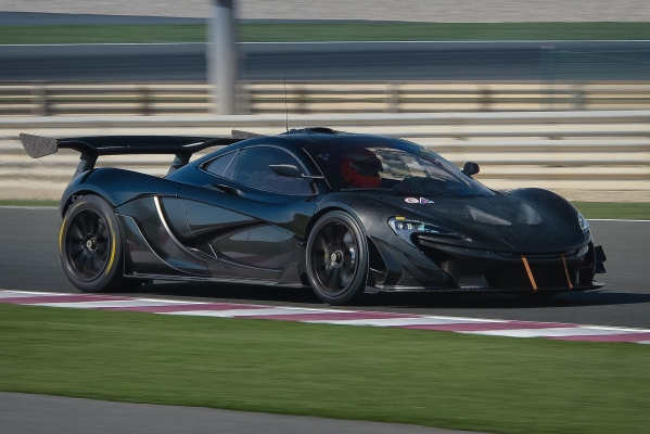 McLaren P1 GTR: Ein bisschen mehr geht immer