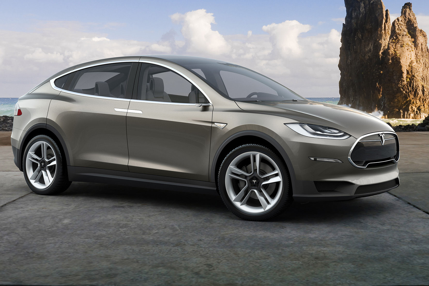Tesla Model X startet in drei Varianten