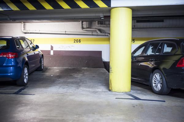 Parkplatz als Objekt der Begierde