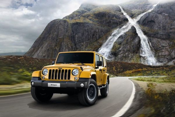 "Jeep Wrangler als Sonderedition ""X"""