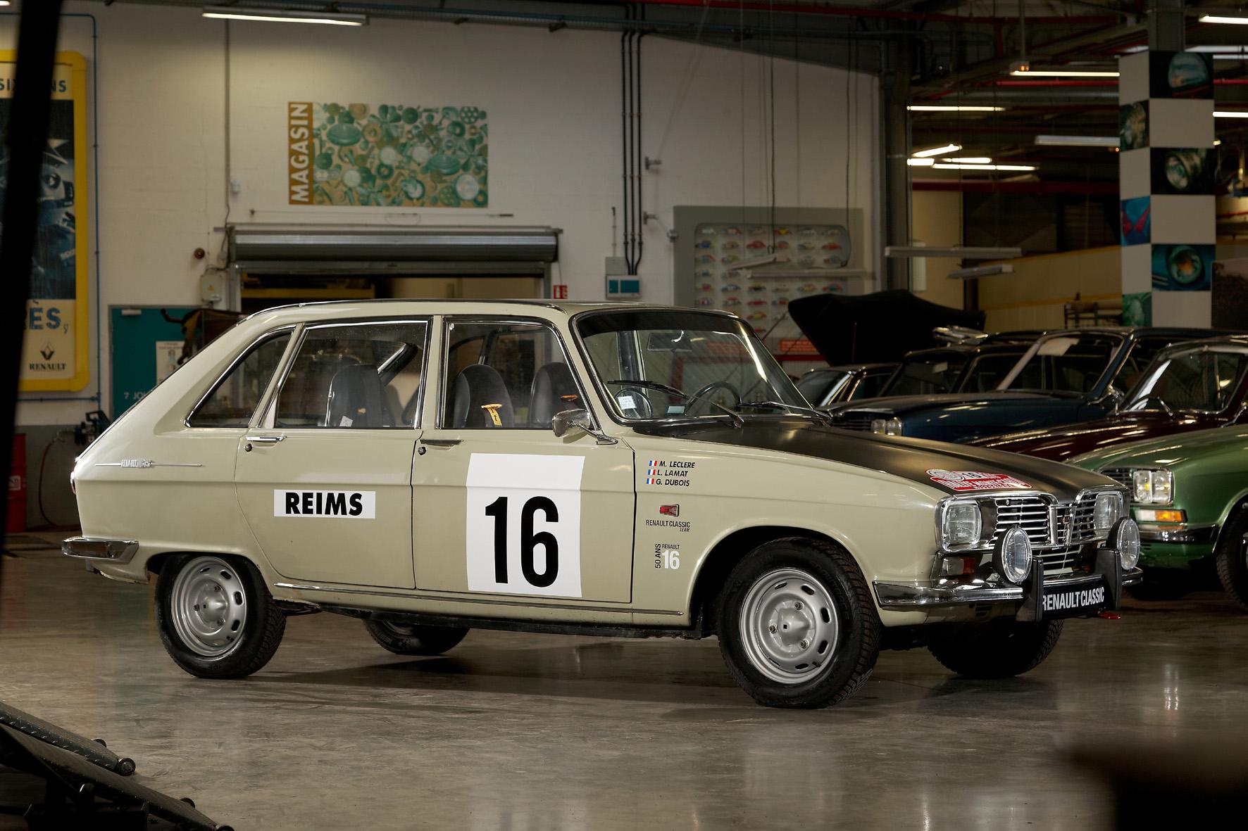 Renault R16: Rallye-Reise zum Geburtstag