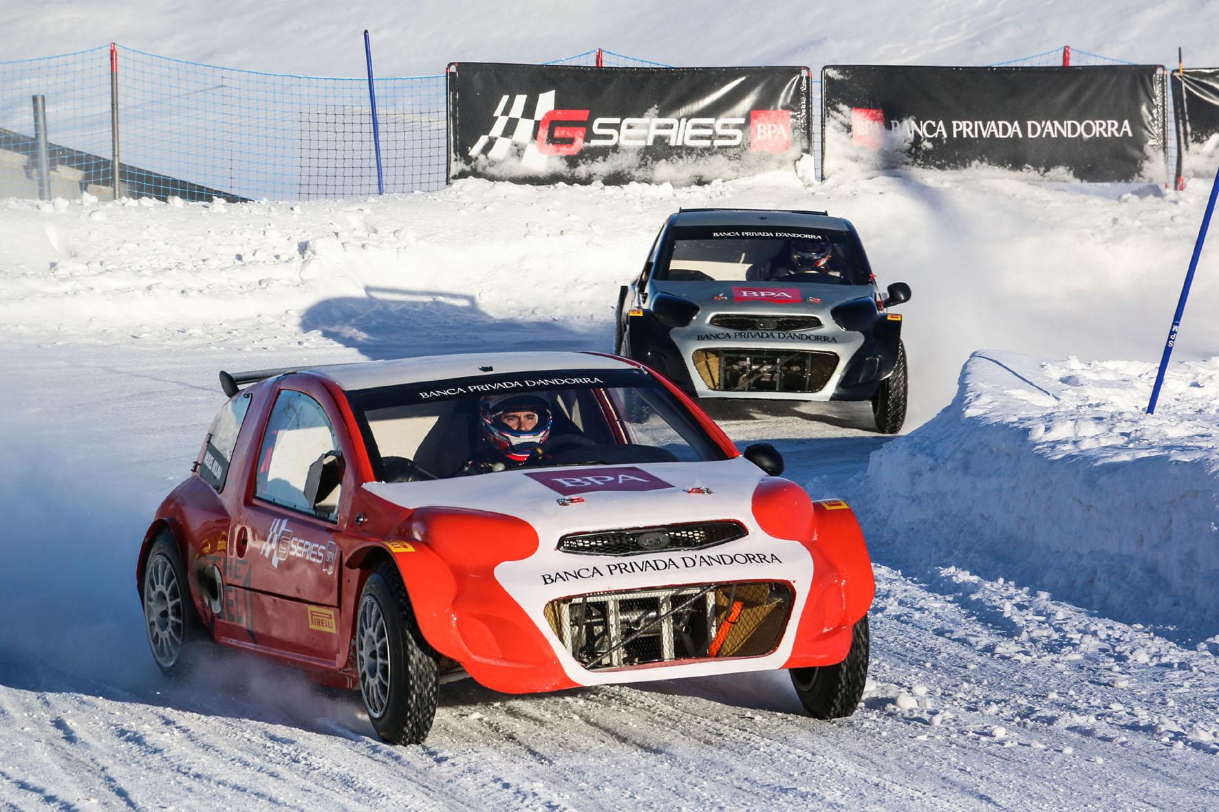 Eisrennen: Audi vor Mercedes