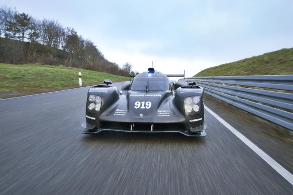 Porsche 919 Hybrid: Vollgas für Le Mans
