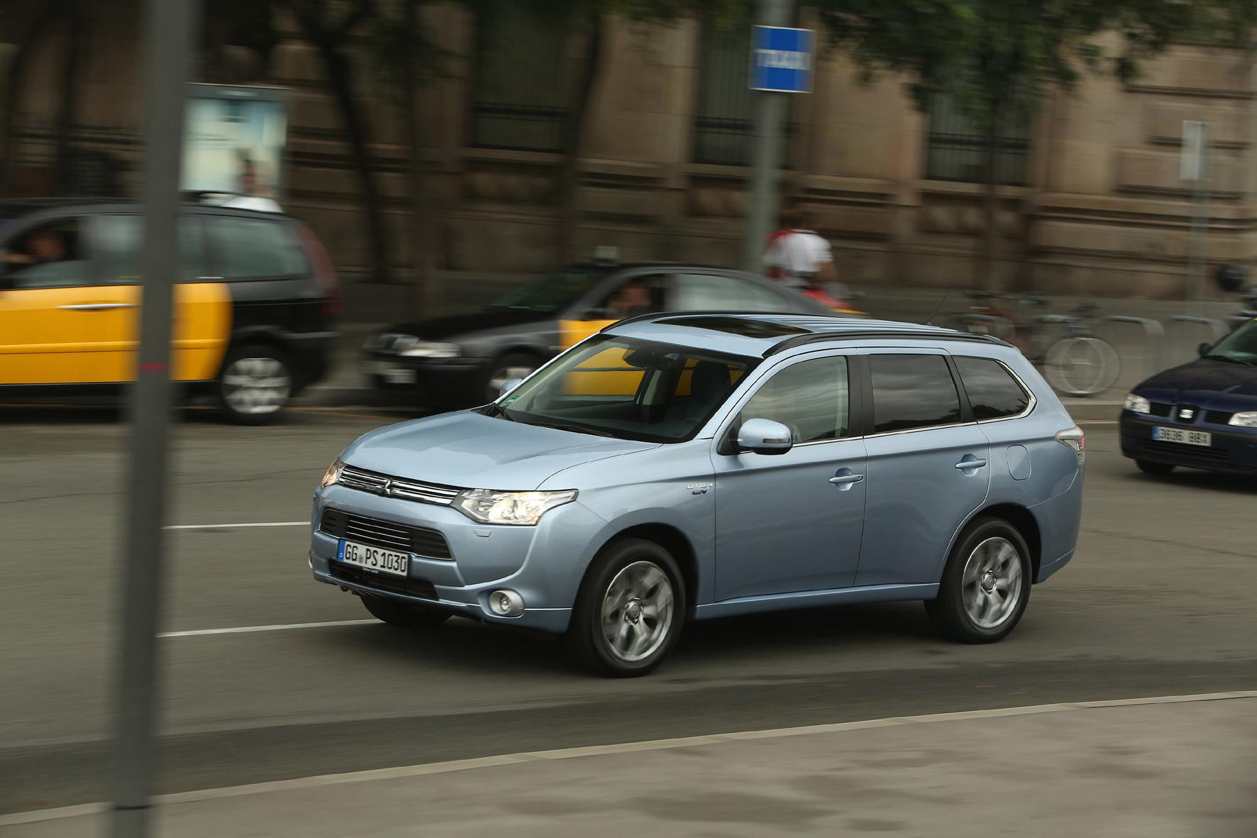 Mitsubishi Hybrid-Outlander sorgt für Wachstumsschub