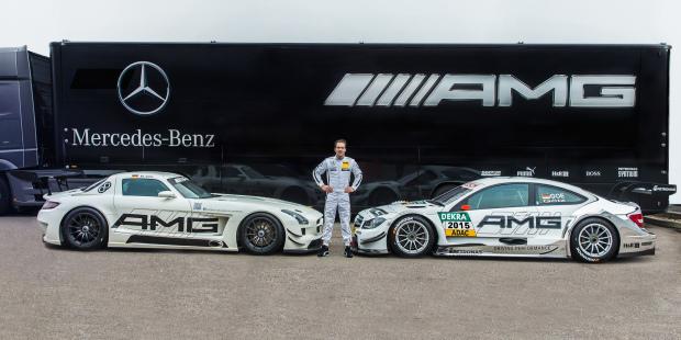Rennfahrer-Traum: Vom Flügeltürer ins DTM-Auto