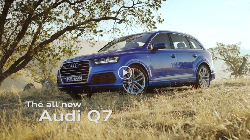 Audi Q7 Teaser