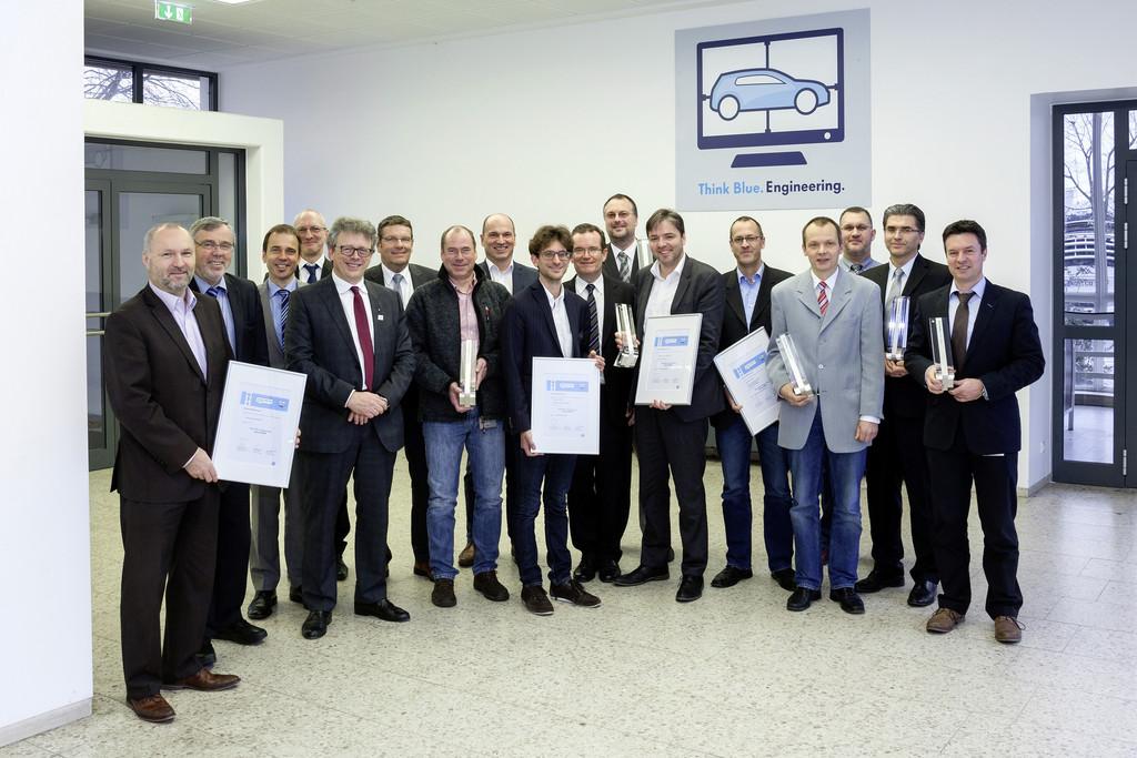 """VW zeichnet Mitarbeiter mit """"Think Blue""""-Awards aus"""