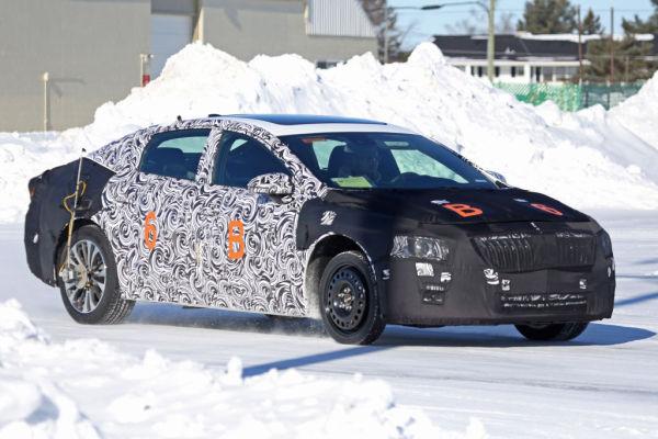 Erwischt: Erlkönig Buick LaCrosse