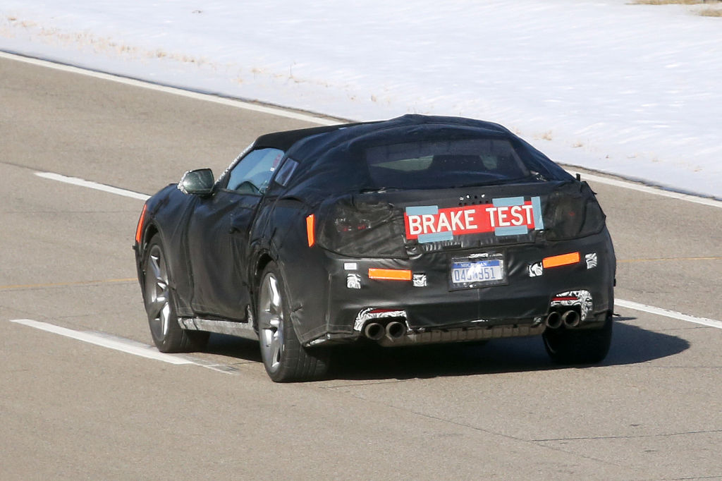 Erwischt: Erlkönig Chevrolet Camaro Cabrio