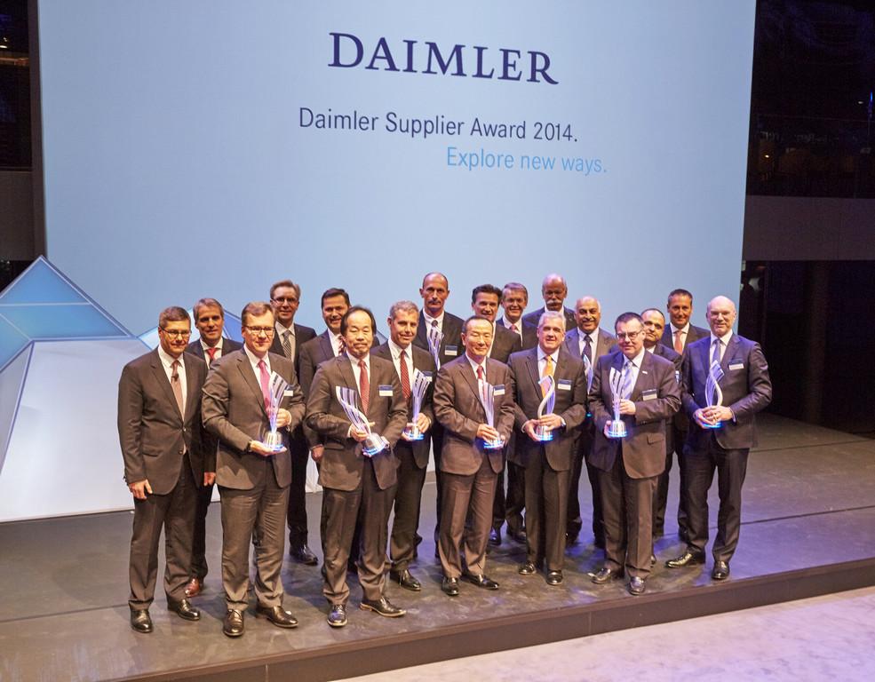 Daimler zeichnet Lieferanten aus