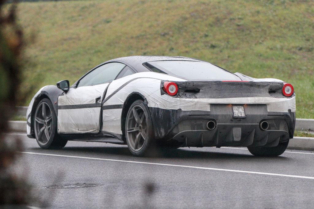 Erwischt: Erlkönig Ferrari 458 M - Neuigkeiten!