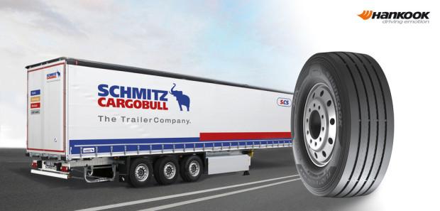 Hankook und Schmitz Cargobull kooperieren