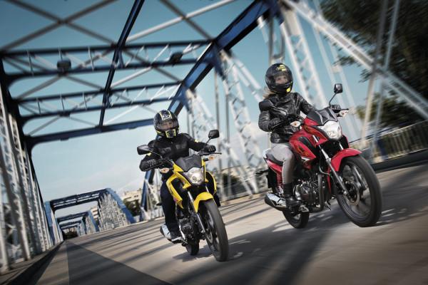 Honda CB 125 F kostet 2775 Euro